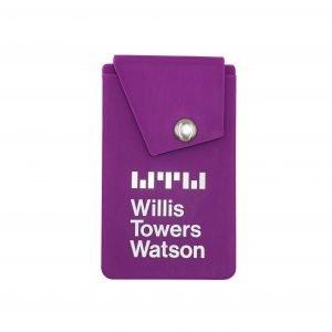 Snap Button Wallet, 1 color logo