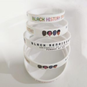 Silicone Wristband, Multi-color logo