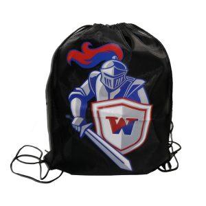Drawstring Bag, Multi-color logo