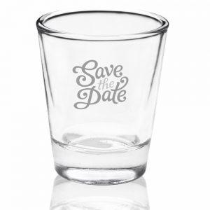 Shot Glass, Clear Bottom