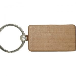 Wooden Keychain, Rectangle