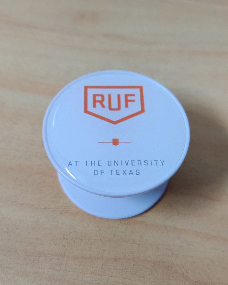 Custom pop socket with logo and epoxy dome